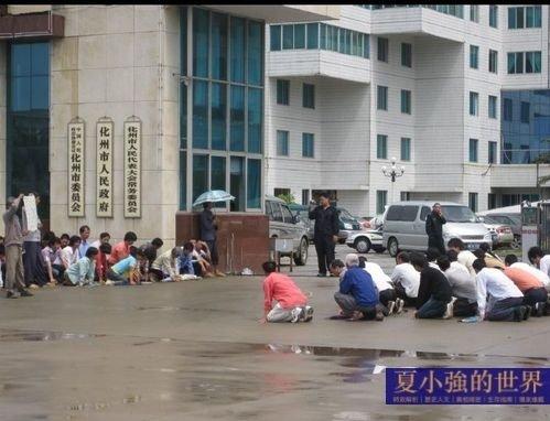 夏小強:主人給僕人跪下了