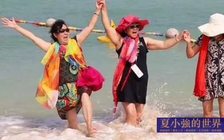 中國的某些大媽已成為社會公害!
