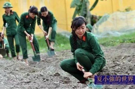 越軍女兵和1979年的中越邊境戰爭