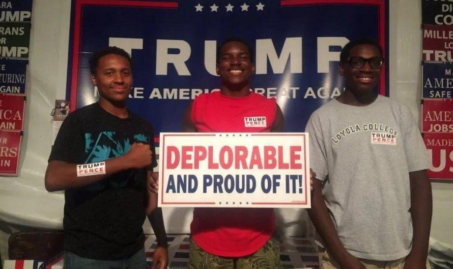 黑人對川普的支持率上升至41%