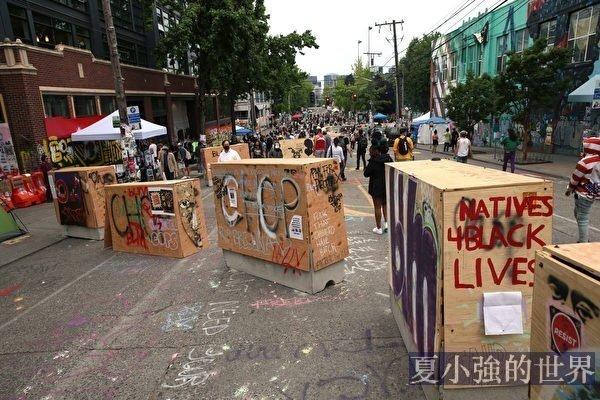 美示威者「砸爛一切」的口號 華人不陌生