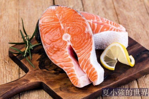 三文魚,心裡苦