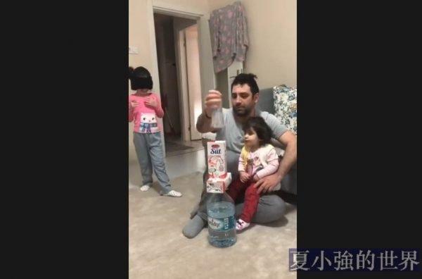 女兒和爸爸玩遊戲。爸爸:我一個人承受了太多(視頻)
