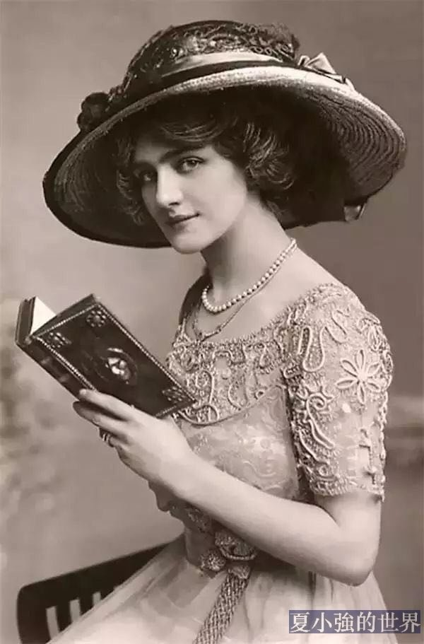 100年前的美女照片,哪些會顛覆你的審美觀?