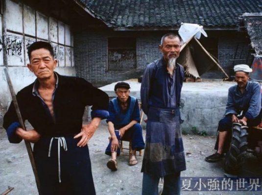 老照片:中國人的表情