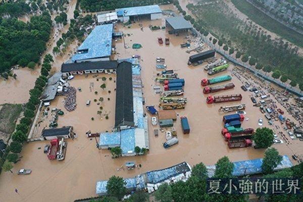 王家壩第16次泄洪 災民是黨的犧牲品
