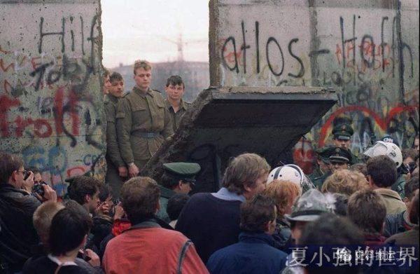 「槍口抬高一厘米」考——紀念柏林牆被推倒30周年