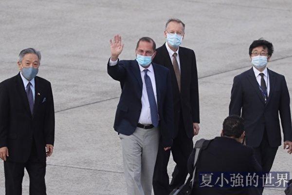 美衛生部長訪台 北京擔憂一事要發生