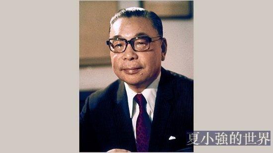 中華民國前總統蔣經國一生反共信念的歷程