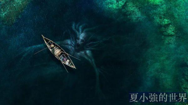 水裡的怪物