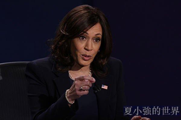 副總統候選人哈里斯副總統辯論為何50秒眨眼56次