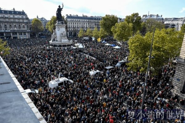 巴黎教師被當街斬首,法國的下坡路沒有盡頭