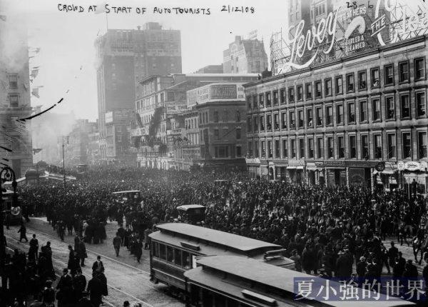在連正經馬路都沒幾條的1908年,一群瘋子從紐約開車去巴黎