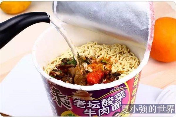 為什麼中國方便麵氣味那麼重?