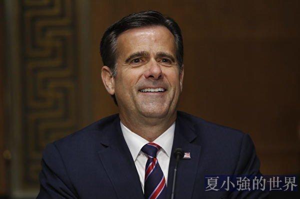 美媒:美國家情報總監確定有外國政府干預大選
