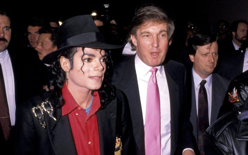 川普總統與邁克爾傑克遜:神奇友誼背後的故事