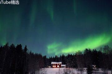 瑞典女孩在北極圈內的詩意生活(視頻)