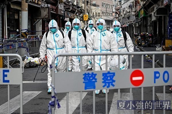 上海黃浦區成疫情中風險區 管控升級
