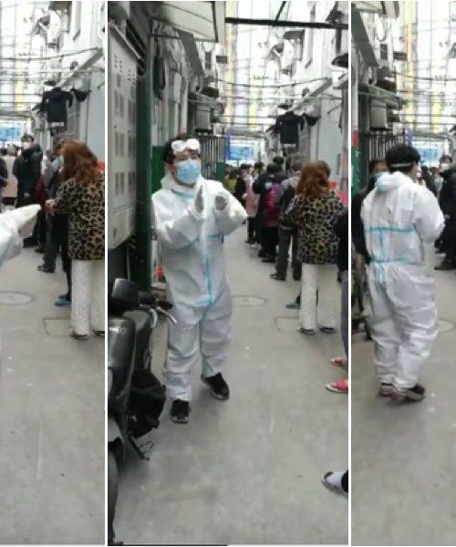 上海市中心小區被封引恐慌 學生連夜逃回家