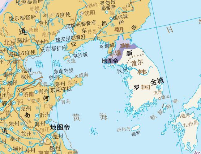 現在的韓國和中國以前戰國時代的韓國有關係麼?