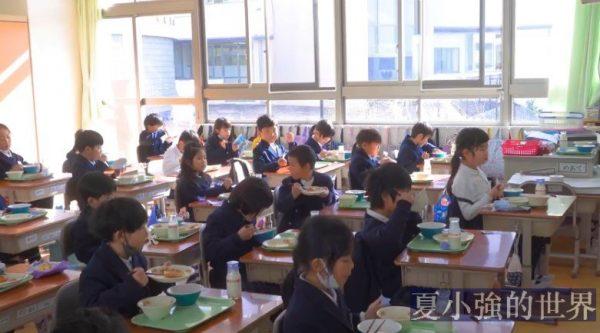 日本小學校日常午餐日常的全過程(視頻)