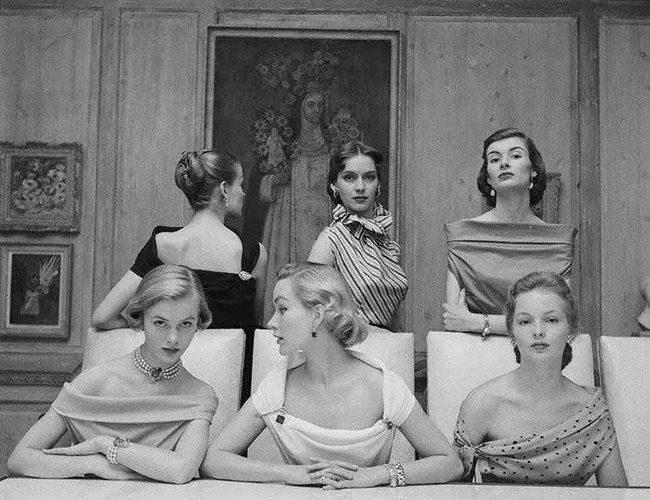 歐美女人老照片:美麗又優雅