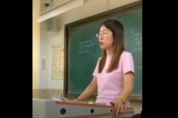 肖老師根本不是想教育誰,她就是想出氣