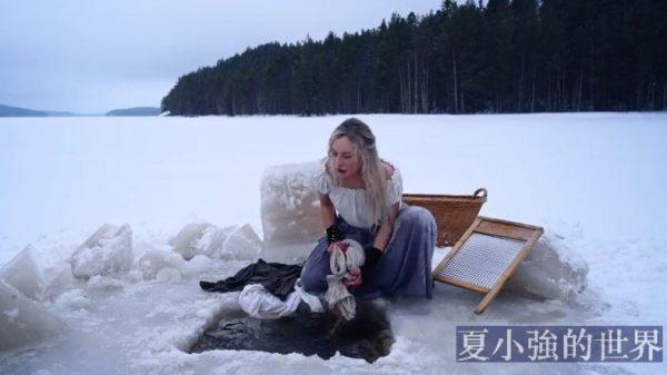 極地那麼寒冷,要怎麼洗衣服?(視頻)