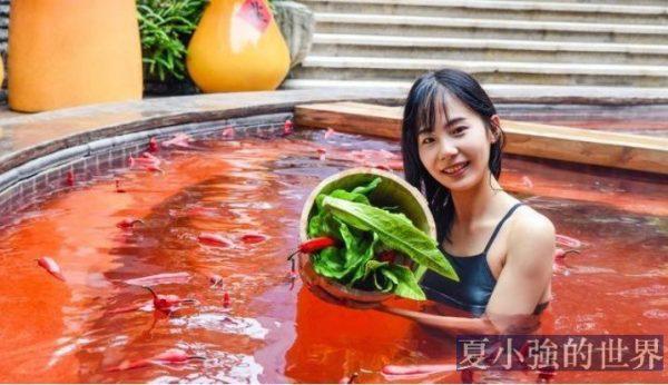 中國溫泉的奇葩配方,簡直比火鍋還多