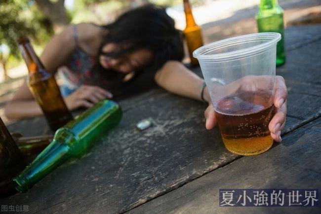喝酒後行為藝術家(視頻)