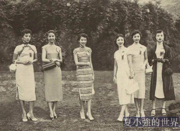 30年前的女生好時尚!一組罕見中國老照片