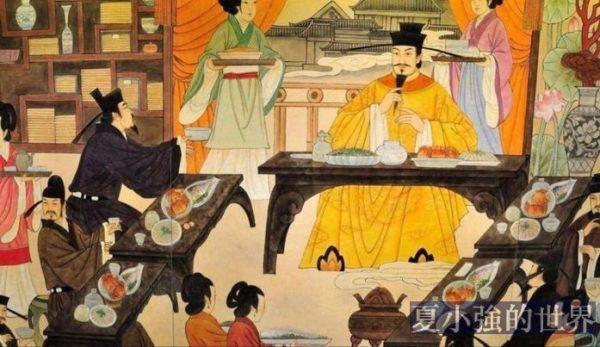 皇帝遇到自己愛吃的菜,夾菜不能超過三筷子,真的?