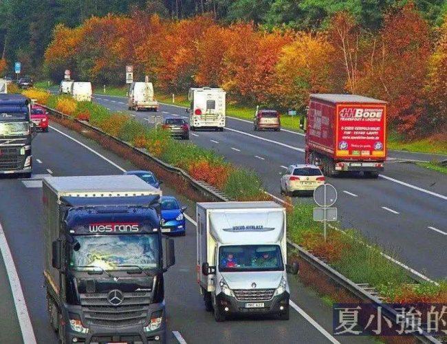 德國貨車司機過著怎樣的日子?德國高速又如何管理大貨車?