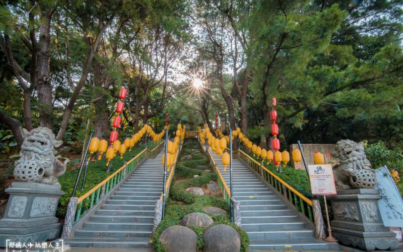 南投最美的佛寺,占地5公頃,處處都有美景拍……