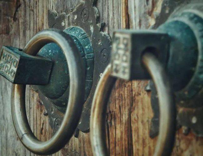 中國門 | 一扣、一推、一掩,歲月往來悄然無聲