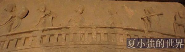 勾欄石刻表演圖 瀘縣宋墓