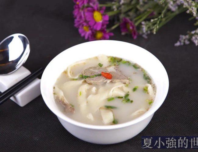 河南燴面的儀式感:先喝湯再吃面