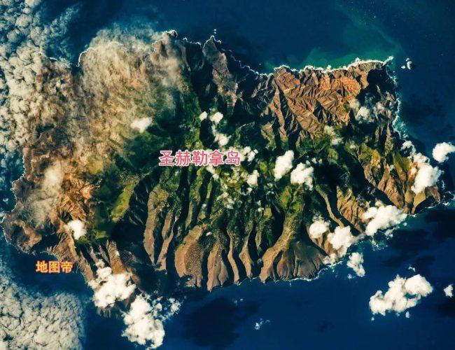 拿破崙流放的聖赫勒拿島有多孤獨?看地圖一目了然