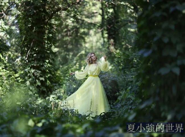 這組田園風的浪漫人像照片,簡直美得不可方物!