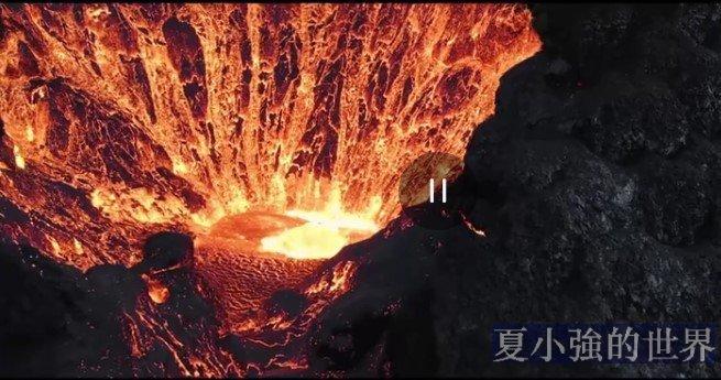 地獄之眼的震撼景觀(視頻)
