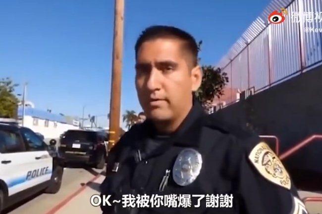 美國警察隨機盤查身份,同時阻止被盤查人錄像,會發生甚麼?(視頻)