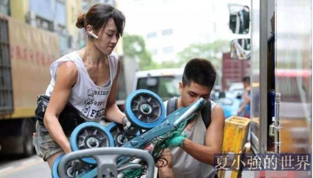 香港「最美搬運工」朱芊佩