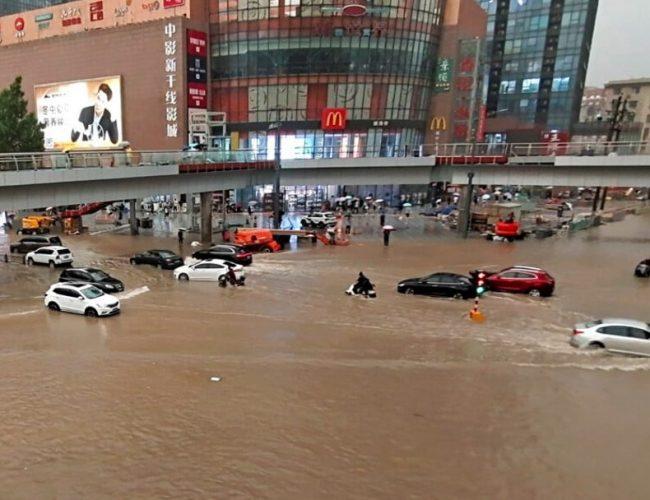 河南鄭州的這場超特大暴雨,和大臺風煙花密切相關
