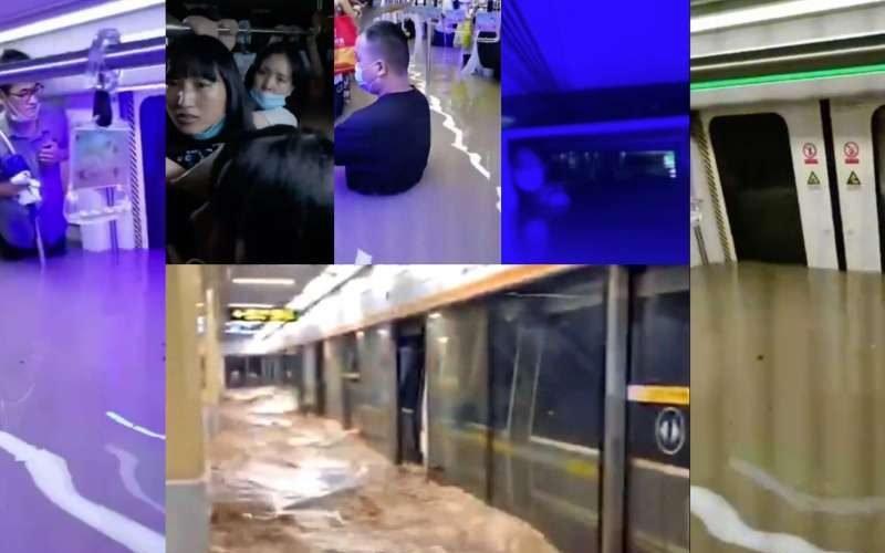 袁斌:鄭州地鐵死者僅14人?這絕對是彌天大謊