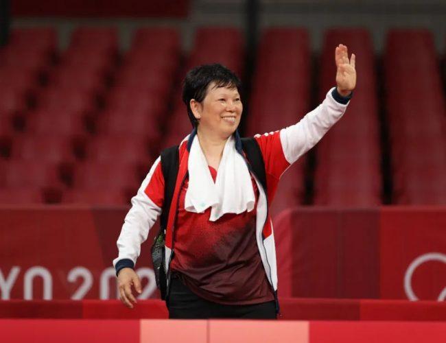 東京奧運最牛「上海大姨」爆紅全網:我暴虐日本隊的時候,馬龍還沒出生!