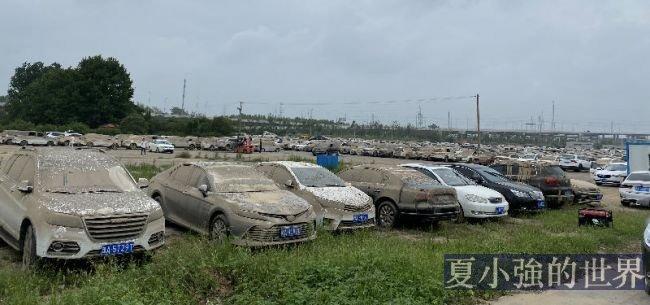 直擊鄭州災後汽車市場:40萬輛車受損,已涉車險約62.51億,大量泡水車待處置