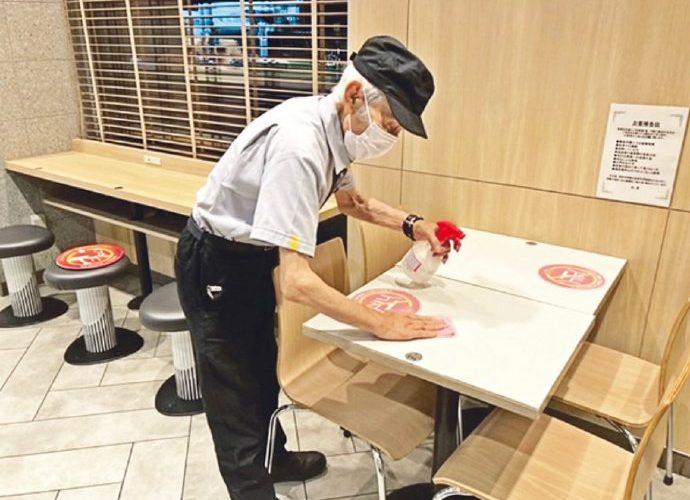 最年長麥當勞員工