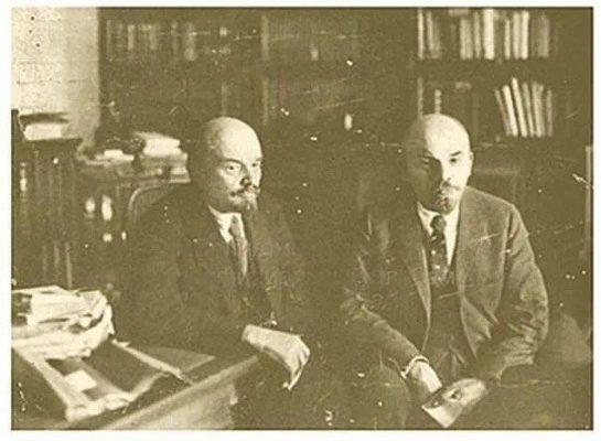 那個險些被史大林弄死的列寧的孿生兄弟