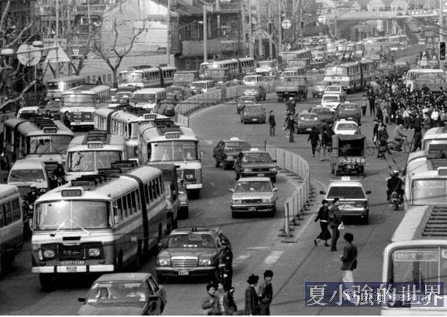30年前上海人的煩惱,他用鏡頭告訴你