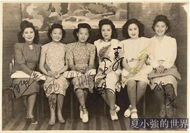 一組舊照,帶你回眸老上海佳人